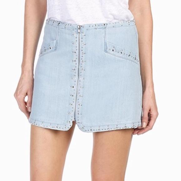 PAIGE Dresses & Skirts - Paige x Rosie HW Hattie Skirt Katie Embellished